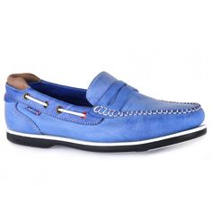 Peel Made in Britain Slip On Boat Shoes - UK Made - Peel Slip On Deck Shoe in Blue/Taupe. A true gentleman requires a shoe for any occasion. Meet Peel, part of our Made in Britain collection. This regal, hand stitched, slip on boat shoe is made using premium British tanned Kudu leather, and then lined underfoot with luxurious memory foam padding. More than just a shoe, a friend you can count on.   £115.83