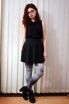 Patterned Tights, Periwinkle, Kicks, Mini Skirts, Legs, How To Make, Fashion, Moda, Fashion Styles