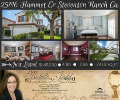 Stunning Stevenson Ranch House for sale! Don't miss out! Call or text me to schedule a showing 661-219-5517! #realestate #listing #stevensonranch #santaclarita #house #home #forsale #michellejudd #michellejuddrealestate #goals #housegoals #dreamhome