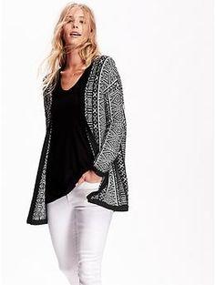 Women's Fair Isle Sweater Jacket | Old Navy