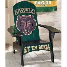 Baylor Adirondack Chair!Baylor lMore Great Ideas! More Pins Like This At FOSTERGINGER @ Pinterest
