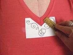 Embroidering a V Neck T-shirt - Embroidery Library - Machine Embroidery Designs Inspired Project Page