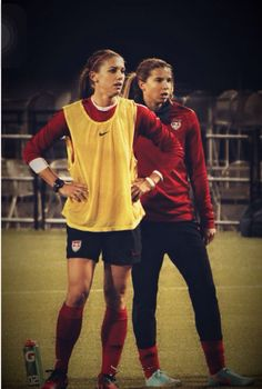 Alex Morgan | Tobin Heath