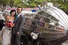 Make your getaway in style with these outrageous wedding transportation options | Offbeat Bride