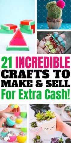 21 Brilliant Crafts To Make And Sell For Extra Cash In 2020 | The Mummy Front