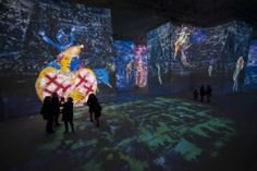 Carrières de Lumières - expo d'art immersive - baux-de-provence - jusqu'au 7 janvier 2018
