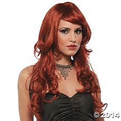 Supermodel Auburn Wig