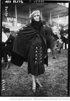 Modes à Auteuil, 1920 : [photographie de presse] / Agence Meurisse