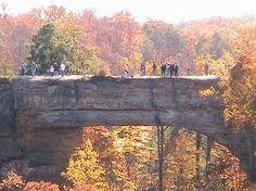 Natural Bridge State Park in Kentucky.