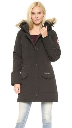 Canada Goose jackets replica shop - Canada Goose Expedition Parka Red Womens $347 | womens fashion ...