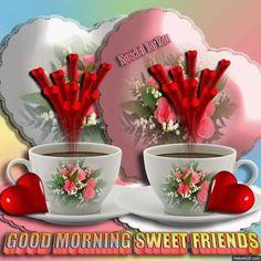 e69f1b03b8e85a9725e6b4a3c92255bf.gif (720×720) Joy Of Living, Good Morning Coffee, Morning Greeting, Good Morning Images, Mugs, Tableware, Sweet, Lighthouses, Friendship