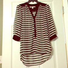 "Spotted while shopping on Poshmark: ""LAUREN CONRAD Blouse""! #poshmark #fashion #shopping #style #LC Lauren Conrad #Tops"