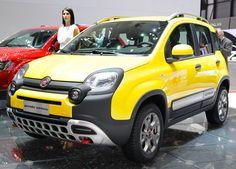 """""""14 - Italian SUVs Panda Cross by Fiat - yellow urban suv - Fiat Panda - Wikipedia"""