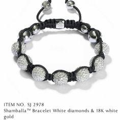 White Crystal Balla Style Adjustable Bracelet – Sunshine's Boutique & Gifts Shambala Bracelet, Jewelry Logo, Jewellery, Jewelry Party, Holiday Jewelry, Adjustable Bracelet, Luxury Jewelry, Fashion Bracelets, Fashion Accessories