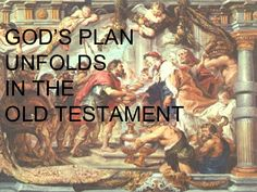God's plan unfolds in the Old Testament - RCIA 14th Sept 2014 (Luke L)