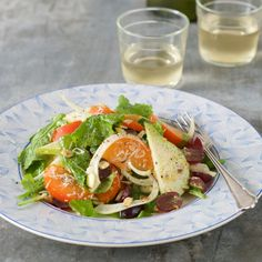 I love this crisp Autumn salad. The sweetness of the persimmon and pear perfectly compliment the boldand spicy flavours of the fennel and rocket, while the toasted almonds add that little bit of crunch. Pair it with pan-fried white fish, … Continued