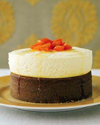 Gingerbread with Quark Cheesecake