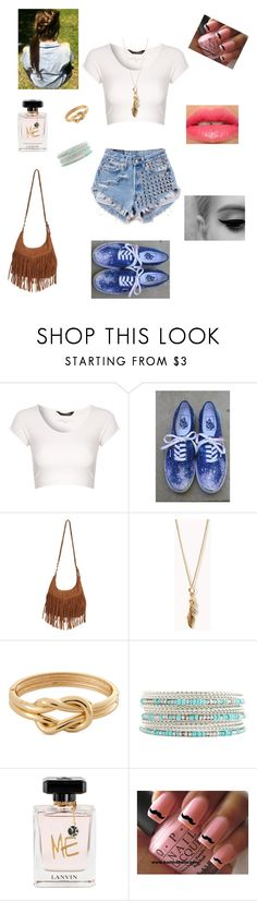 14 by braveryandlove on Polyvore featuring moda, Jane Norman, Vans, Wet Seal, Forever 21, Charlotte Russe, H&M, Lanvin and Revlon