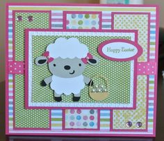 I like the colors and layout of this card.  Create a Critter 1