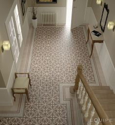 Bodenfliese Equipe Caprice Dekor Liberty taupe 2020 cm Entryway and Hallway Decorating Ideas Bodenfliese Caprice Dekor Equipe Liberty taupe Tiled Hallway, Entryway Tile Floor, Bathroom Flooring, Sweet Home, Beton Design, Hallway Decorating, Home Decor Inspiration, Decor Ideas, Wall Tiles