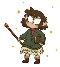Starting my very first real D&D campaign on Saturday!! My character is a lightfoot halfling wizard and this is her first adventure too <3 I'm super excited!I don't know her name yet…Maybe it'll be Myrtle? Idk.