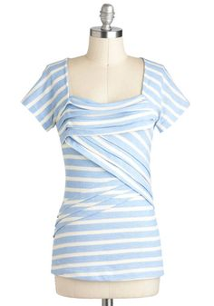 There are so many things I like about this shirt  Sky Favorite Things Top, #ModCloth