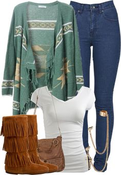 """""""O4 . O15 . 2O13"""" by schwagger ❤ liked on Polyvore, without the cuff earring."""