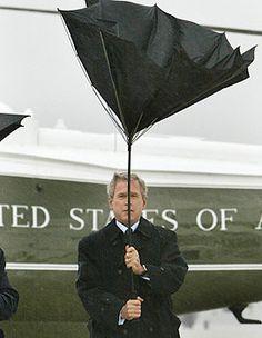 Bush Umbrella-up, makes me chuckle.