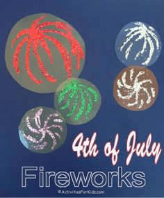 Fun of july craft for kids using clear notebook plastic sheets, glue . Fireworks Craft For Kids, Fourth Of July Crafts For Kids, 4th Of July Fireworks, Summer Activities For Kids, Crafts For Kids To Make, Art Activities, Kids Crafts, 4th Of July Parade, July 4th