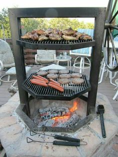 This is great for the outdoors and its cast iron! | Future Home and ...