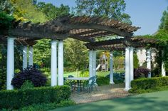 Pergola Attached To House Plans Key: 4319337620
