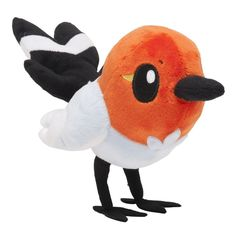 Pokemon Center Fletchling Dartiri Passerouge Plush Doll.with the bonus item  #PokemonCenter