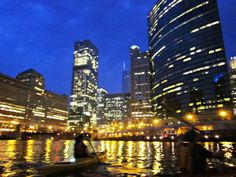 a less boring boat tour on the #chicago river.