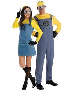 Cute idea for a couples Halloween costume! Despicable Me Minions! http://thestir.cafemom.com/love_sex/162224/10_fun_halloween_costumes_for/110335/minions?slideid=110335?utm_medium=sm&utm_source=pinterest&utm_content=thestir