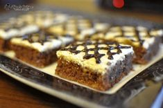 """Old Romanian Cake Recipe, known as the """"Chinese Cake"""" - It was regularly cooked in Romanian ordinary kitchens during Sweets Recipes, Cake Recipes, Desserts, Chinese Cake, Food Cakes, Banana Bread, Bacon, Good Food, Food And Drink"""