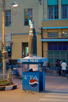 Ethiopia has police boxes