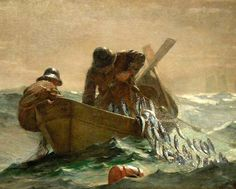 Winslow Homer The Herring Net by pamelainob (Pamela Schreckengost), via Flickr
