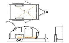 42 Best teardrop camper plans images in 2019 | Teardrop caravan, Log projects, Rolling carts