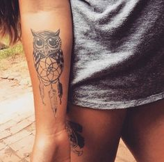 cute owl tattoo #ink #YouQueen #girly #tattoos