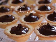 Mini tartelettes au caramel et nutella