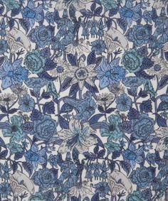 Liberty Art Fabrics Phyllis D Tana LawnLiberty.co.uk