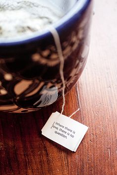this has become a morning tradition of mine this week... thank goodness for yogi tea!