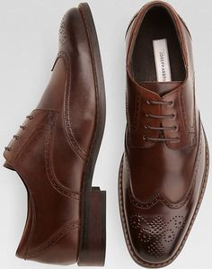 this sort of style of brown dress shoe.  size 10