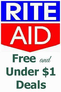 Rite Aid FREE and Under $1 Deals -- 1/26-2/1 #free #deals #RiteAid