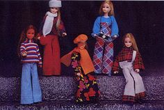 Palitoy Pippa doll trouser Collection