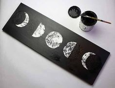 moon phase art