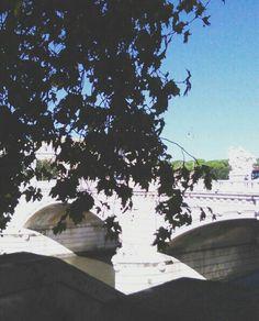 Lungo Tevere, Roma 🌉 #lungotevere #rome #bridge #italy