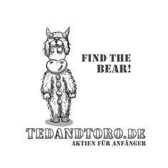 Na, wo ist Ted, unser Börsenbär?! 😐😳😜   #Aktien #Börse