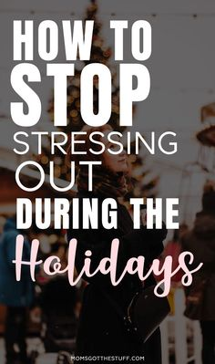 For many of us, the holiday season is the busiest, most stressful time of year. It's important that you find ways to reduce your stress during the holidays. How to stop stressing out during the holidays. Stress Relief Quotes, Stress Quotes, How To Stop Stress, How To Relieve Stress, Ways To Destress, Self Improvement Quotes, Holiday Stress, Learning To Let Go, Stressed Out