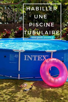 Habillage d'une piscine tubulaire : astuces pour créer un habillage esthétique pour sa piscine hors sol. #piscine #tubulaire #habillage #horssol #jardin #terrasse #diy #bricolage Diy, Gardens, Exterior Homes, Patio, Bricolage, Do It Yourself, Homemade, Diys, Crafting